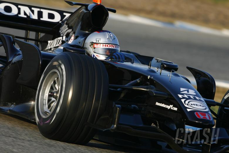 Marco Andretti, Honda, Jerez F1 Test, 6/02/07