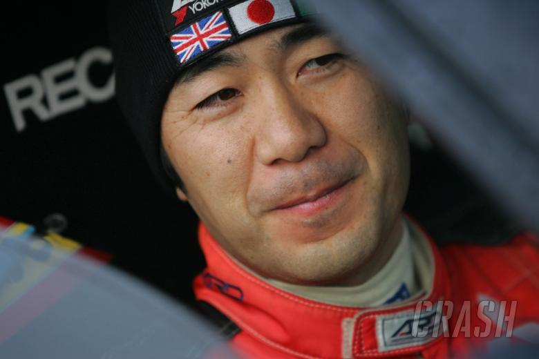 Fumio Nutahara (JPN), Mitsubishi Lancer Evo [Production WRC]. Swedish Rally, 8-11th February 2007.