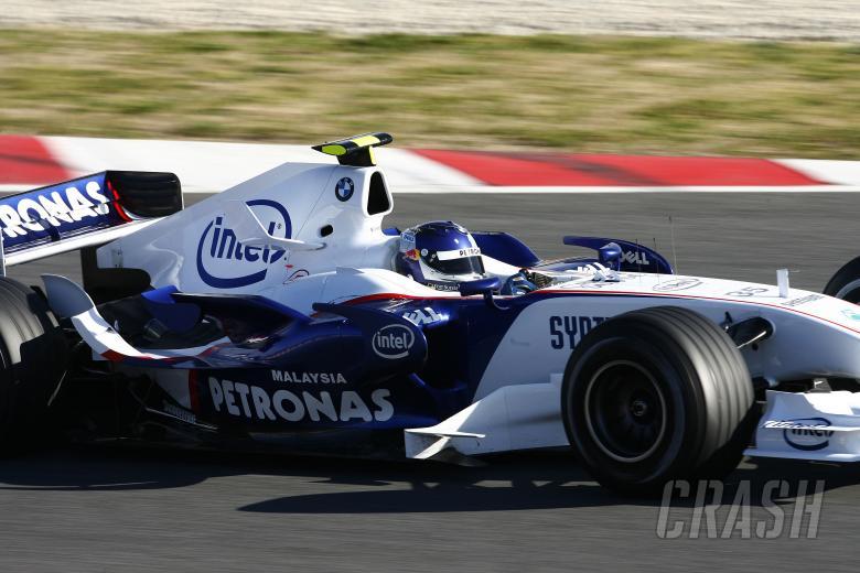 Sebastian Vettel, BMW, Barcelona F1 Test, 14/2/07