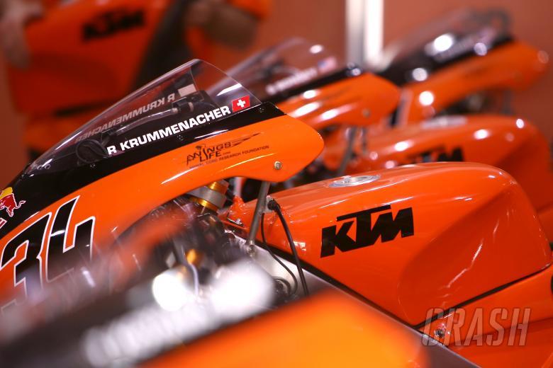 Krummenacher`s KTM Qatar 125GP 2007