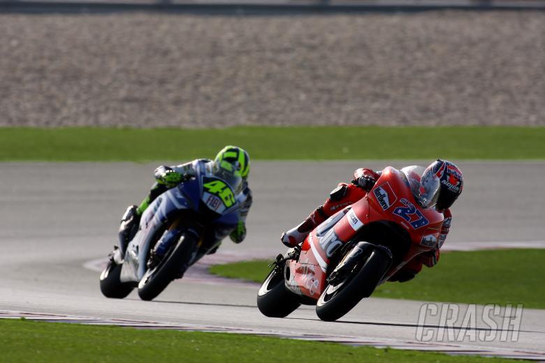 Casey Stoner (AUS), Ducati Marlboro Team, Ducati, 27, 2007 MotoGP World Championship,  Round 1, Los