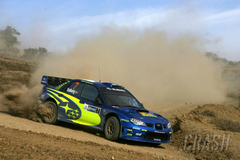 Petter Solberg (NOR) / Phil Mills (GBR), Subaru WRT Impreza WRC 2007. Rally Mexico, 8-11th March 200