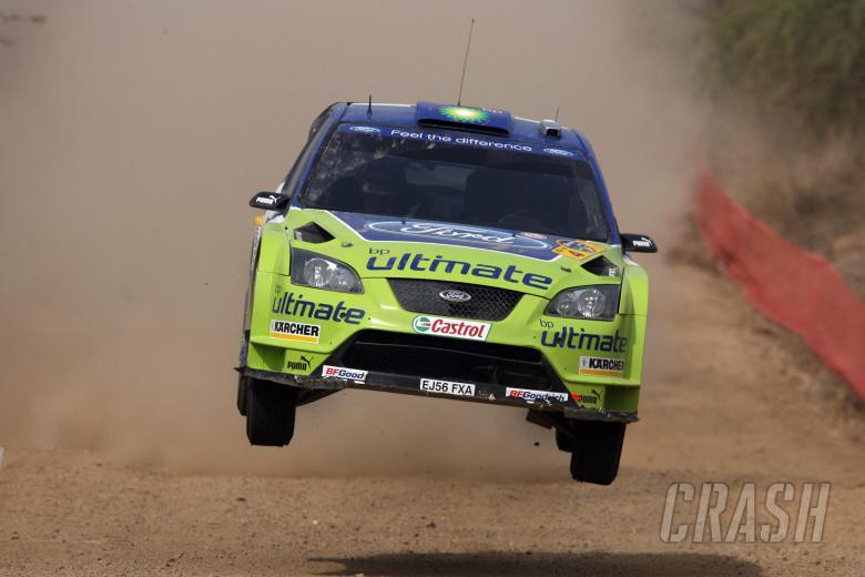 Mikko Hirvonen (FIN) / Jarmo Lehtinen (FIN), BP Ford Focus RS WRC 06. Rally Mexico, 8-11th March 200