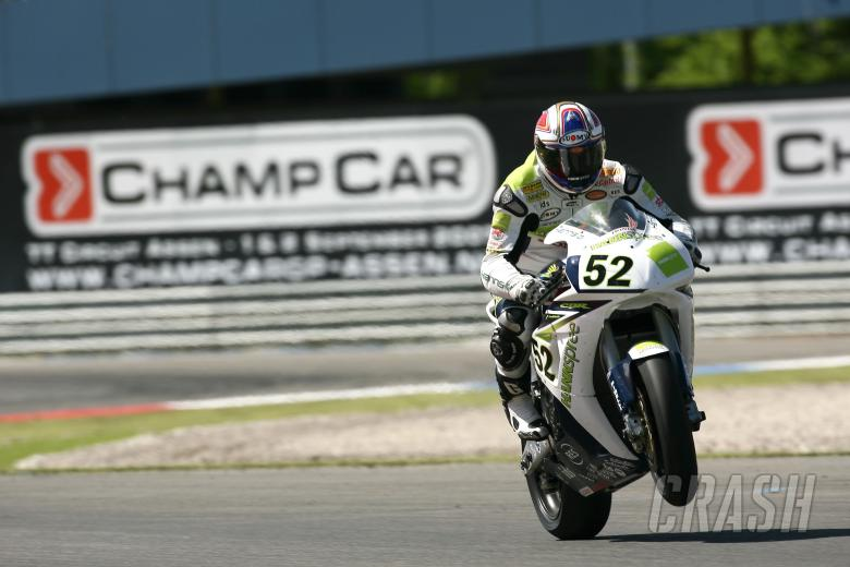 , , Toseland, Assen WSBK Race 1 2007