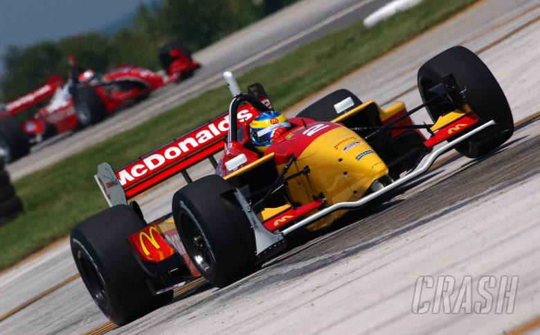 Sebastien Bourdais, Newman-Haas Racing Lola-Ford, 2004 Grand Prix of Cleveland