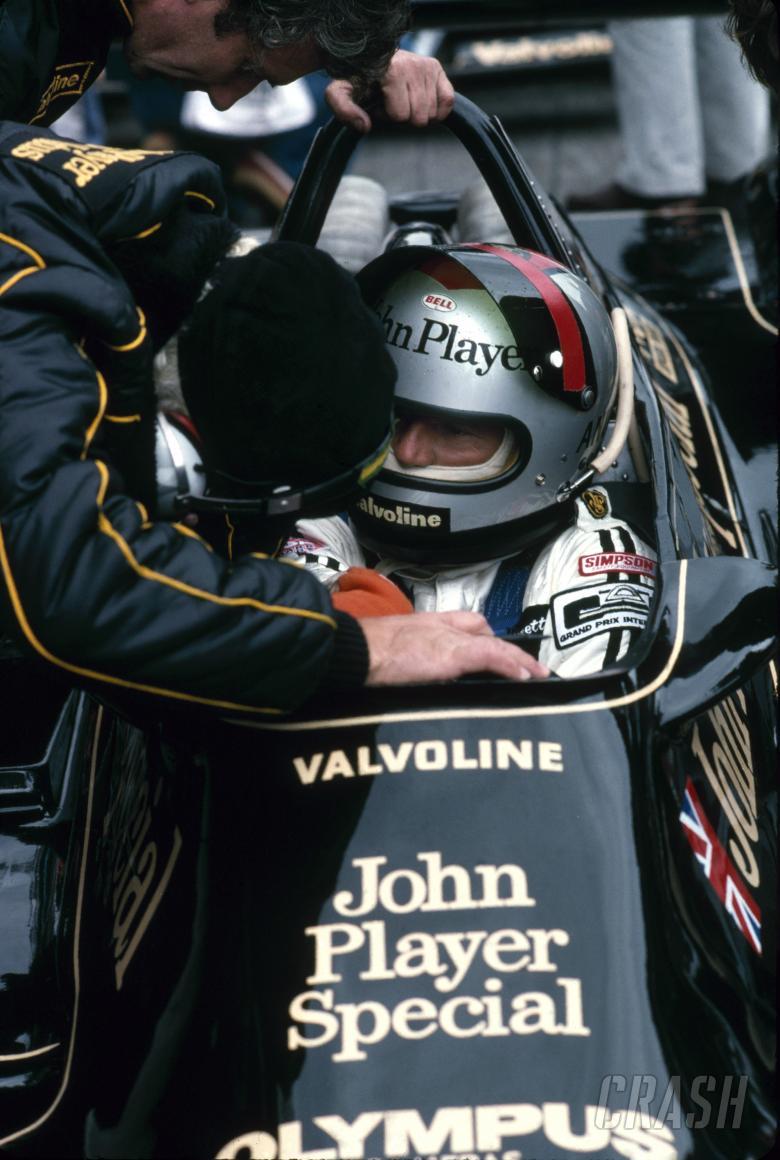 1978 Formula One Wolrd Championship.Mario Andretti (USA), John Player Special/Olympus Lotus 79.Swedi