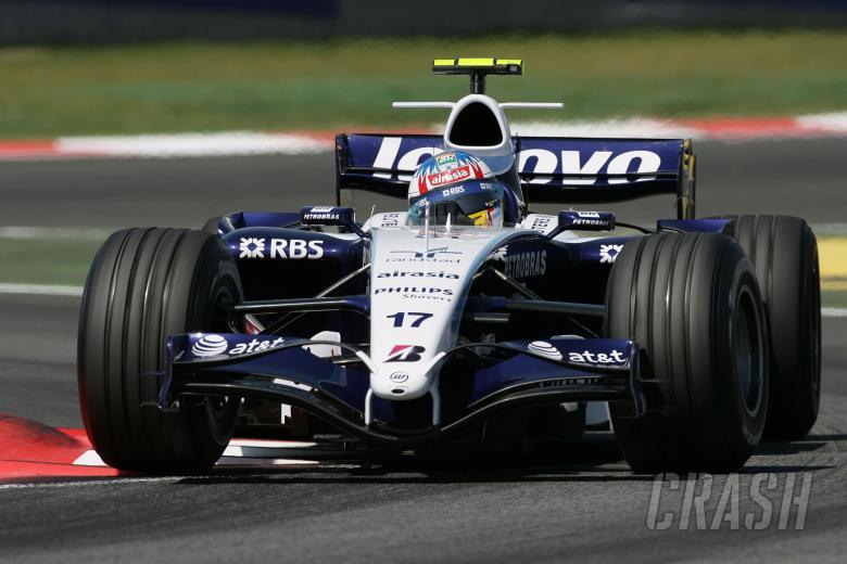 Alex Wurz (AUT) Williams FW29, Spanish F1 Grand Prix, Catalunya, 11-13th, May 2007