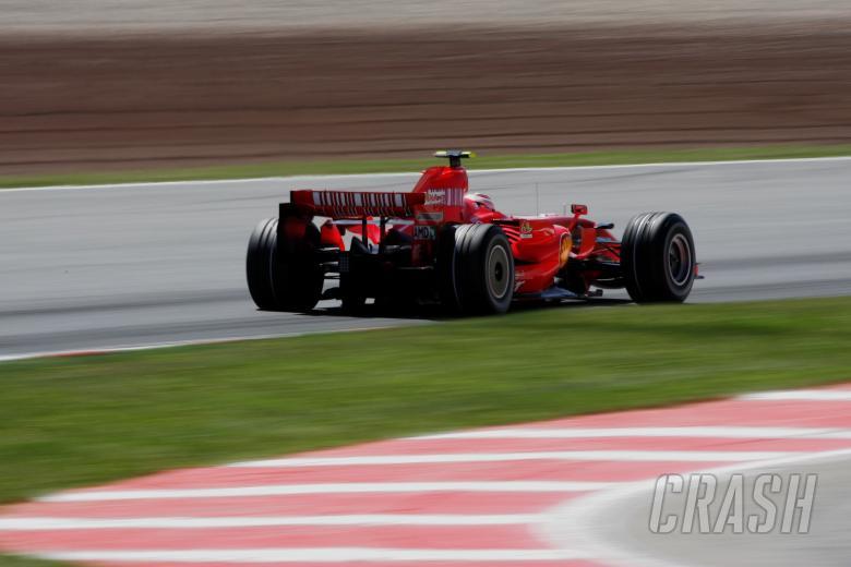 Kimi Raikkonen (FIN) Ferrari F2007, Spanish F1 Grand Prix, Catalunya, 11-13th, May 2007