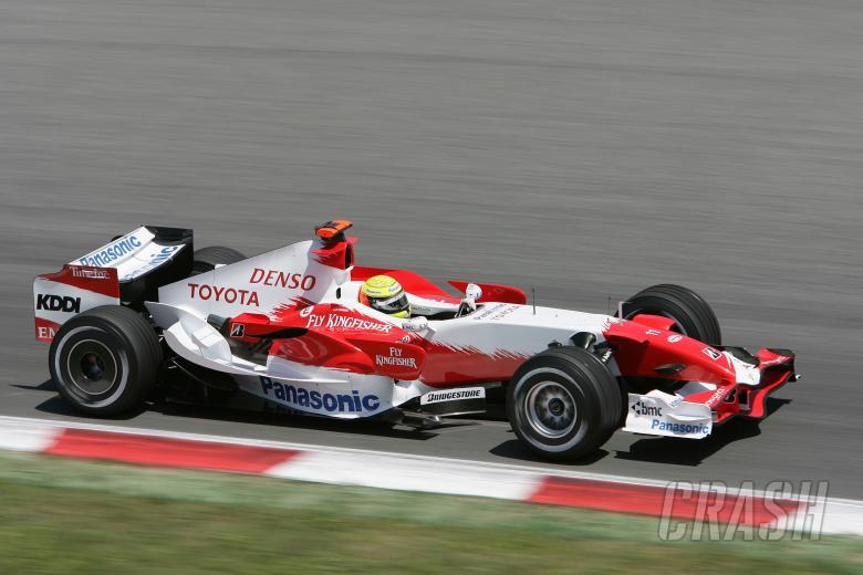 Ralf Schumacher (GER) Toyota TF107, Spanish F1 Grand Prix, Catalunya, 11-13th, May 2007