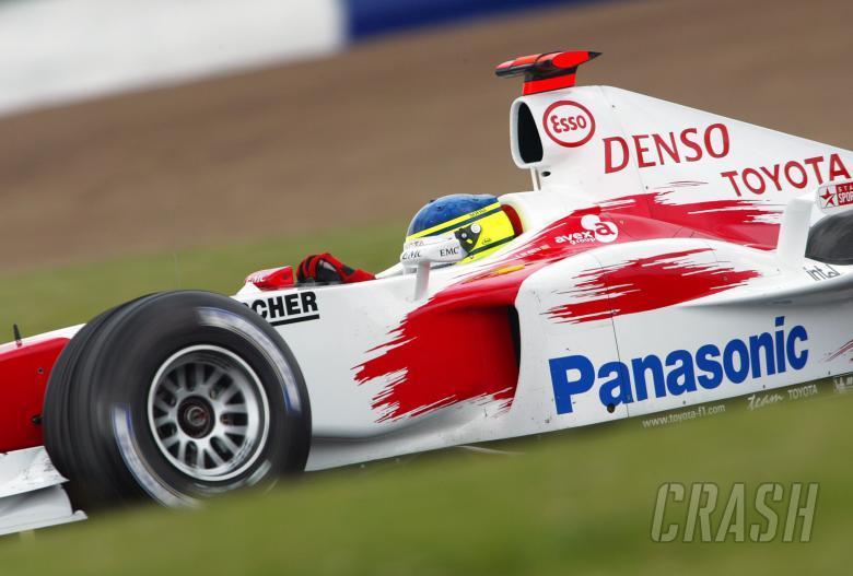 Cristiano da Matta - Toyota TF104
