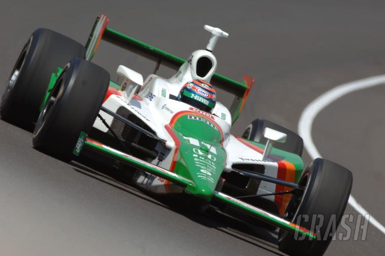Indy Racing League. May 2007. Indy 500. Indianapolis, Indiana USA. Tony Kanaan.