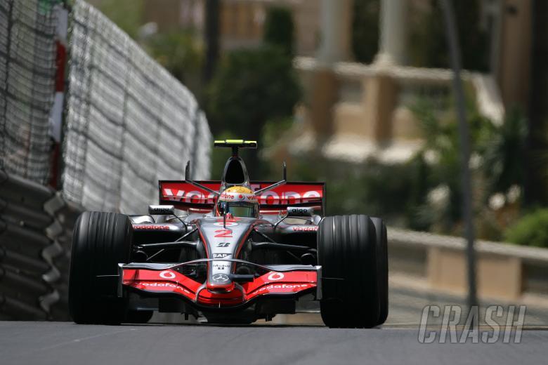 Lewis Hamilton (GBR) McLaren MP4/22, Monaco F1 Grand Prix, 24th-27th, May, 2007