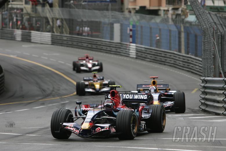 Scott Speed (USA) Toro Rosso STR02, Monaco F1 Grand Prix, 24th-27th, May, 2007