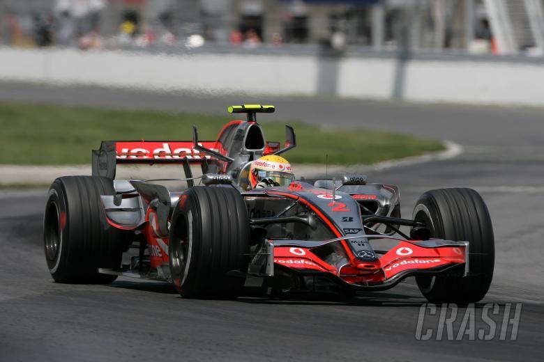 Lewis Hamilton (GBR) McLaren MP4/22, Canadian F1 Grand Prix, Montreal, 8th-10th, June 2007
