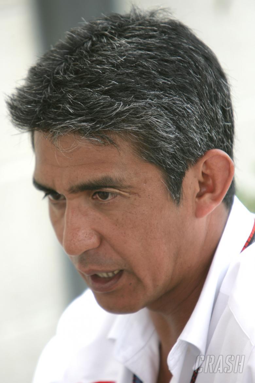 Aguri Suzuki (JPN) Sporting Director Super Aguri, Indianapolis F1, USA, 2007