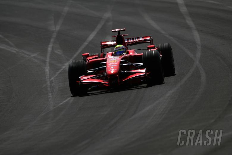 Felipe Massa (BRA) Ferrari F2007, Indianapolis F1, USA, 2007