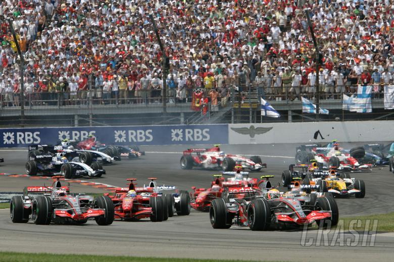 , , Start, Indianapolis F1, USA, 2007