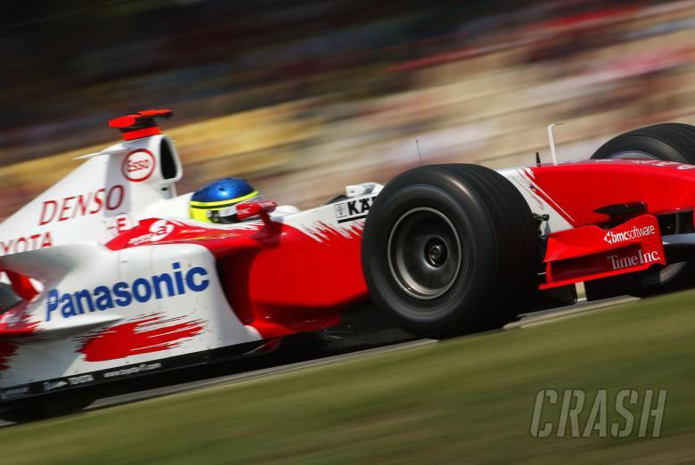 Cristiano da Matta - Toyota TF104B