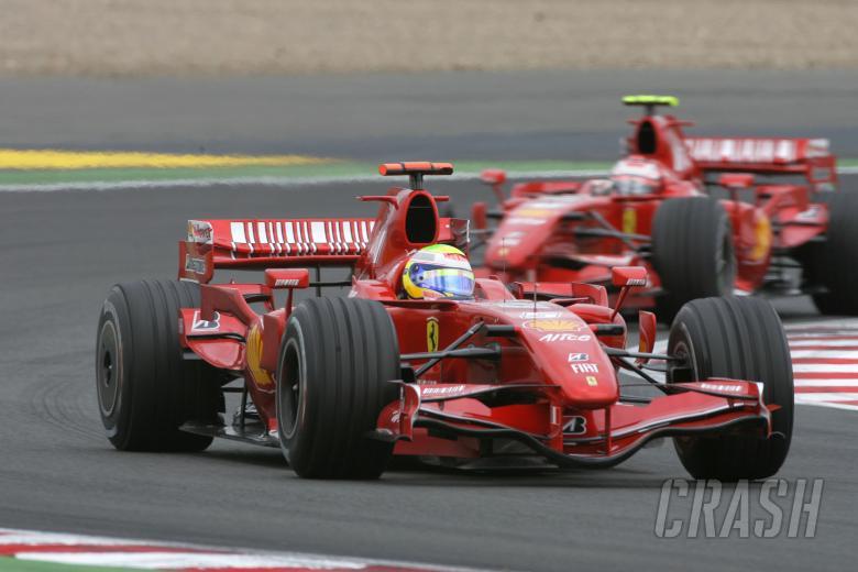 Felipe Massa (BRA) Ferrari F2007, France F1, Magny Cours, 29th June-1st July, 2007