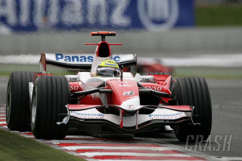 Ralf Schumacher (GER) Toyota TF107, France F1, Magny Cours, 29th June-1st July, 2007