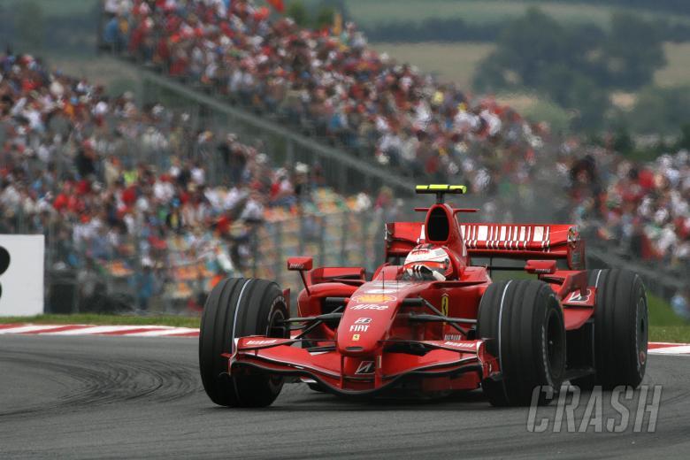 Kimi Raikkonen (FIN) Ferrari F2007, France F1, Magny Cours, 29th June-1st July, 2007