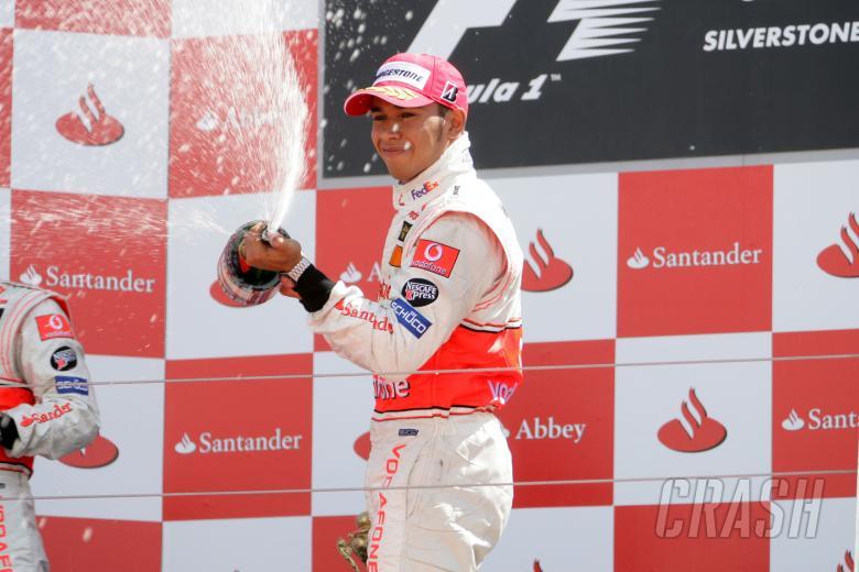 Lewis Hamilton (GBR) McLaren MP4/22, British F1, Silverstone, 6-8th, July, 2007
