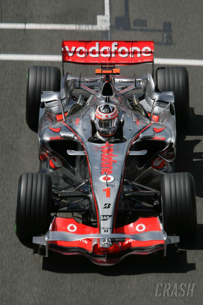 Fernando Alonso (ESP) McLaren MP4/22, British F1, Silverstone, 6-8th, July, 2007