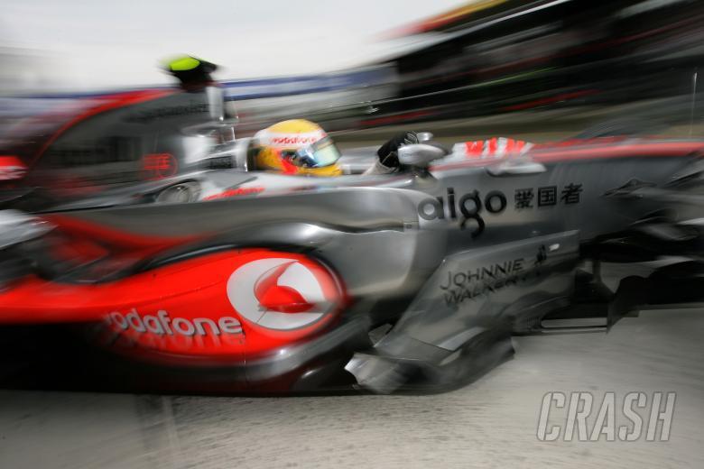 Lewis Hamilton (GBR) McLaren MP4/22, European F1 Grand Prix, Nurburgring, 20th-22nd, July, 2007