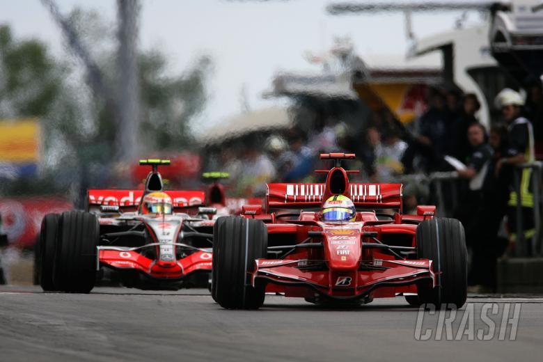 Felipe Massa (BRA) Ferrari F2007, European F1 Grand Prix, Nurburgring, 20th-22nd, July, 2007