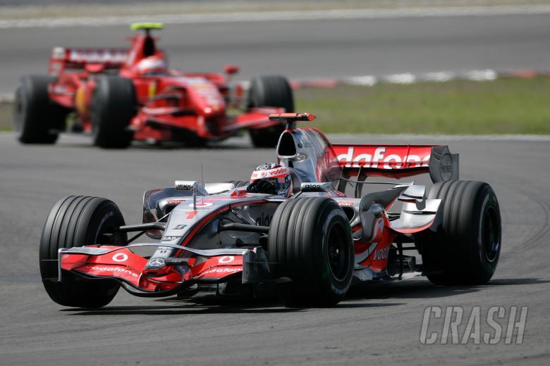 Fernando Alonso (ESP) McLaren MP4/22, European F1 Grand Prix, Nurburgring, 20th-22nd, July, 2007