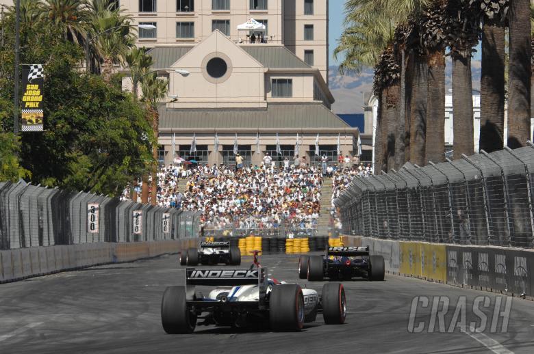 Champ Car World Series. 27-29 July 2007. San Jose Grand Prix. San Jose, California. Tracy, Jani and