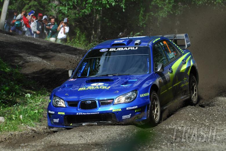 Petter Solberg (NOR) / Phil Mills (GBR), Subaru WRT Impreza WRC 2007. Rally Finland, 2nd-5th August