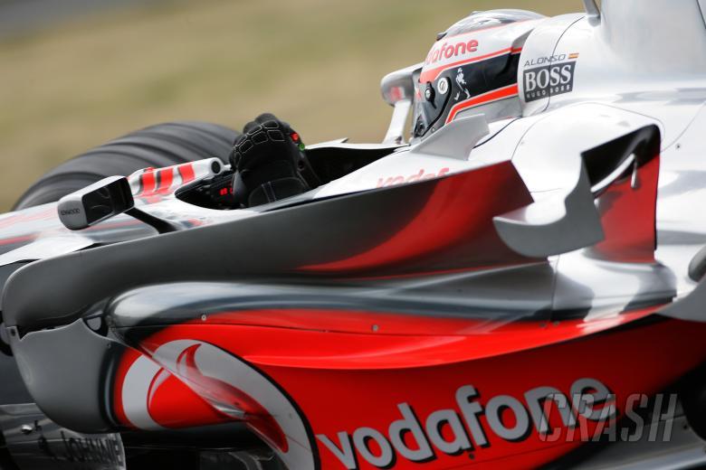 Fernando Alonso (ESP) McLaren MP4/22, Hungarian F1, Hungaroring, 3rd-5th, August, 2007
