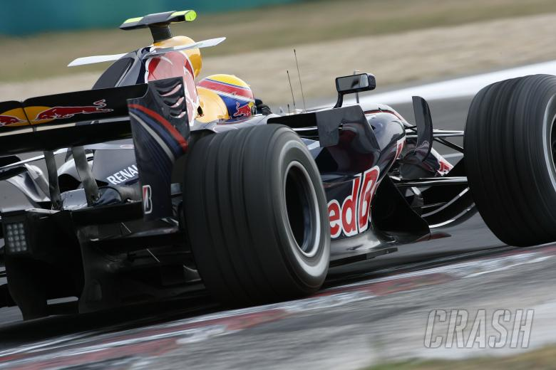 Mark Webber (AUS) Red Bull RB3, Hungarian F1, Hungaroring, 3rd-5th, August, 2007