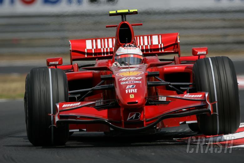 Kimi Raikkonen (FIN) Ferrari F2007, Hungarian F1, Hungaroring, 3rd-5th, August, 2007