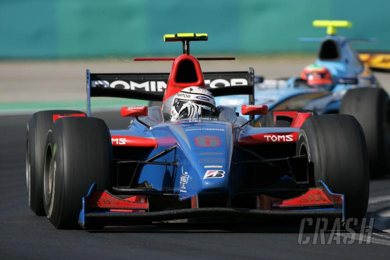 Andreas Zuber (UAE) iSport International, Hungarian GP2, Hungaroring, 3rd-5th, August, 2007