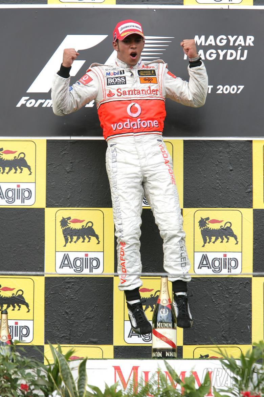 Lewis Hamilton (GBR) McLaren MP4/22, Hungarian F1, Hungaroring, 3rd-5th, August, 2007