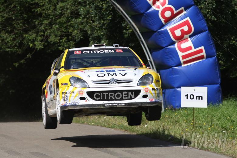 Francois Duval (BEL) / Patrik Pivato (BEL), OMV Kronos Citroen Xsara WRC. Rallye Deutschland, 17-19t