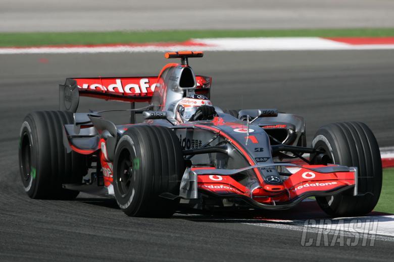 Fernando Alonso (ESP) McLaren MP4/22, Turkish F1, Istanbul Park, 24th-26th August, 2007