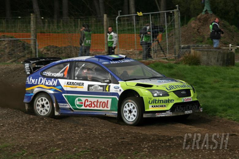 Mikko Hirvonen (FIN) / Jarmo Lehtinen (FIN), BP Ford Focus RS WRC 07. Rally New Zealand. 31st August