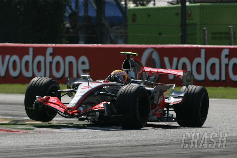 Lewis Hamilton (GBR) McLaren MP4/22, Italian F1, Monza, 7-9th, September 2007