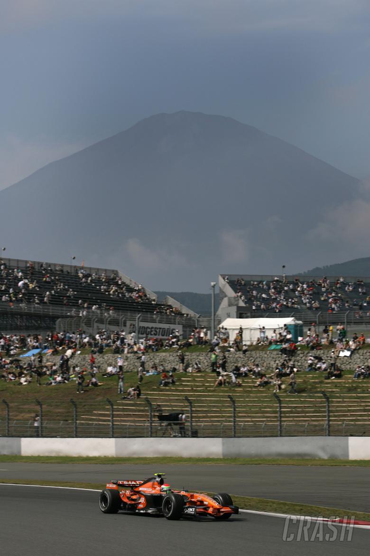 Sakon Yamamoto (JPN), Etihad Aldar Spyker Formula One Team F8-V11, Japanese F1, Fuji, 28-30th, Septe