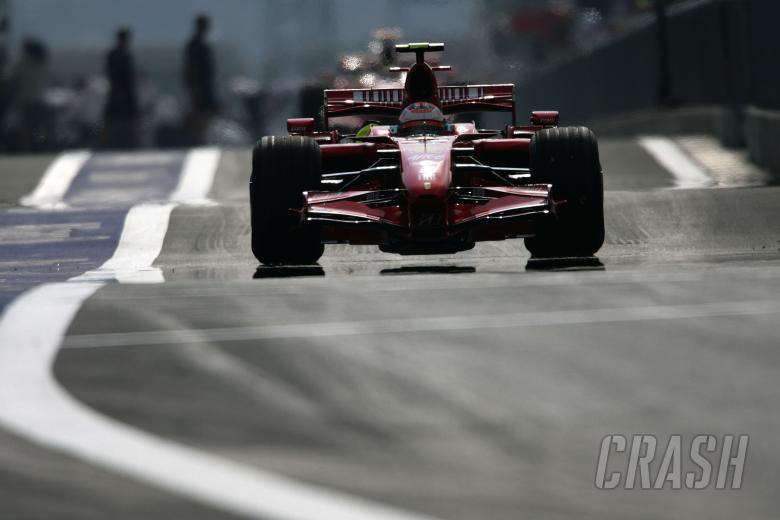Kimi Raikkonen (FIN) Ferrari F2007, Japanese F1, Fuji, 28-30th, September, 2007