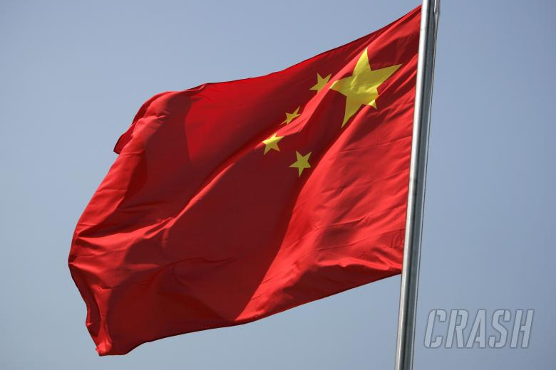 Chinese Flag, China F1, Shanghai, 5-7th, October 2007