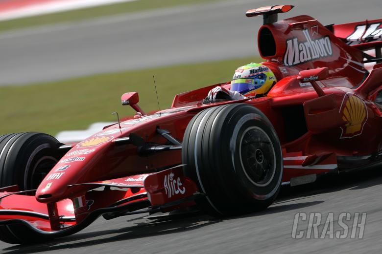 Felipe Massa (BRA) Ferrari F2007, China F1, Shanghai, 5-7th, October 2007