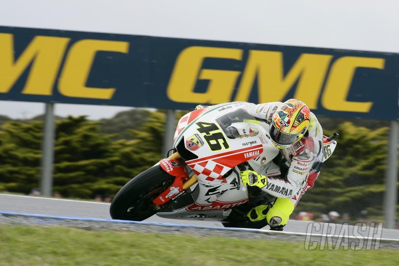 Rossi,  Australian MotoGP 2007