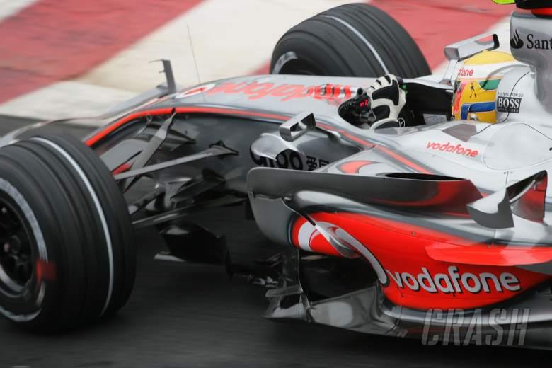 Lewis Hamilton (GBR) McLaren MP4/22, Brazilian F1, Interlagos, 19th-21st, October, 2007