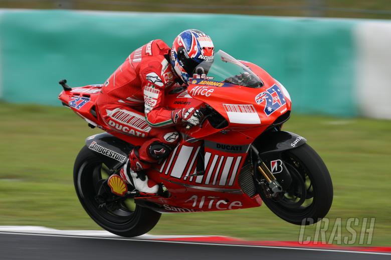 Casey Stoner (AUS), Ducati Marlboro Team, Ducati, 27, 2007 MotoGP World Championship,