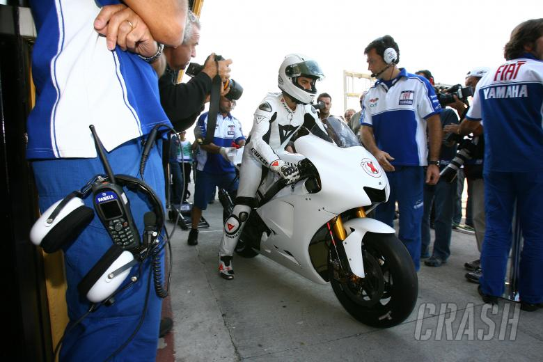 Lorenzo, Valencia MotoGP Test 2007