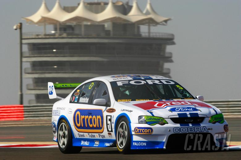 Mark Winterbottom (aust) Orccon Ford won the round outright  Desert 400 Rd 12 V8 Supercars Bahra